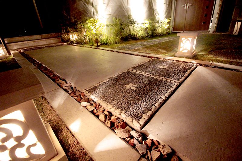 バリ風 リゾートガーデン