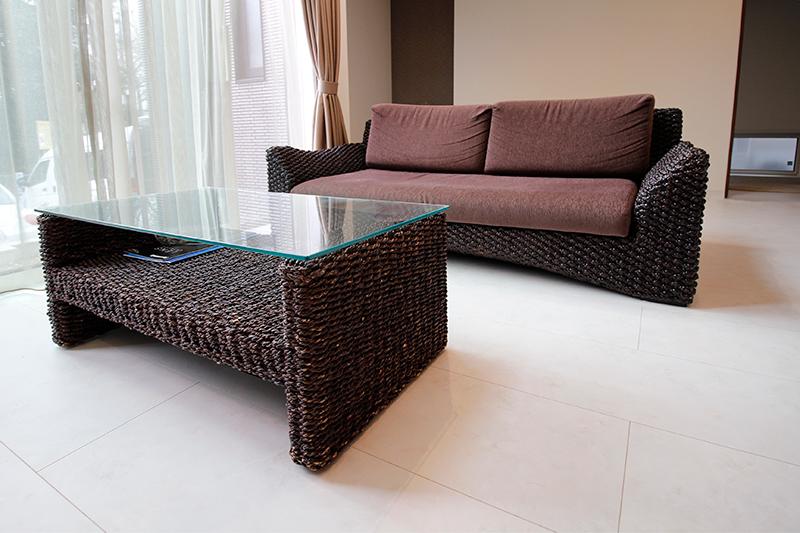 ヒヤシンスのソファー・センターテーブル